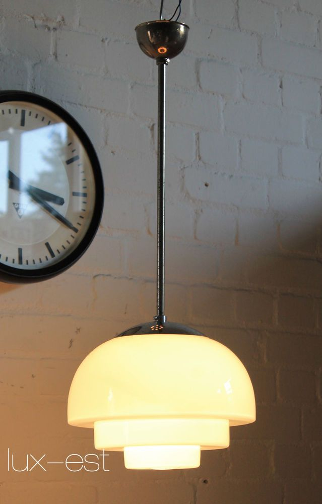 Mithras I Pendellampe Vintage Opal Kugel Bar Bauhaus Design 1930 Loft Lampe Ebay Loft Lampe Lampe Opal