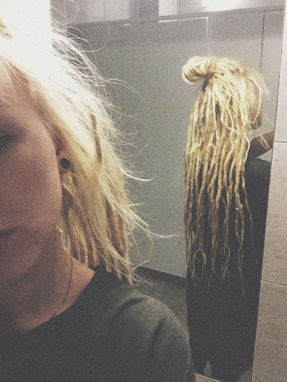 @nastyachuck (inst)  Dreadlocks, dreads, dread, wonderlocks, love, selfie, nastya chuck, chuck, girl, girls, look, hair, long hair, nastyachuck