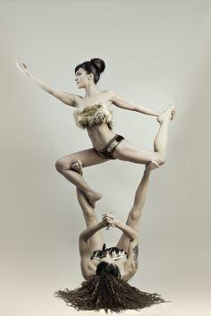 pinagnes gyore on acrobalance  acro yoga poses