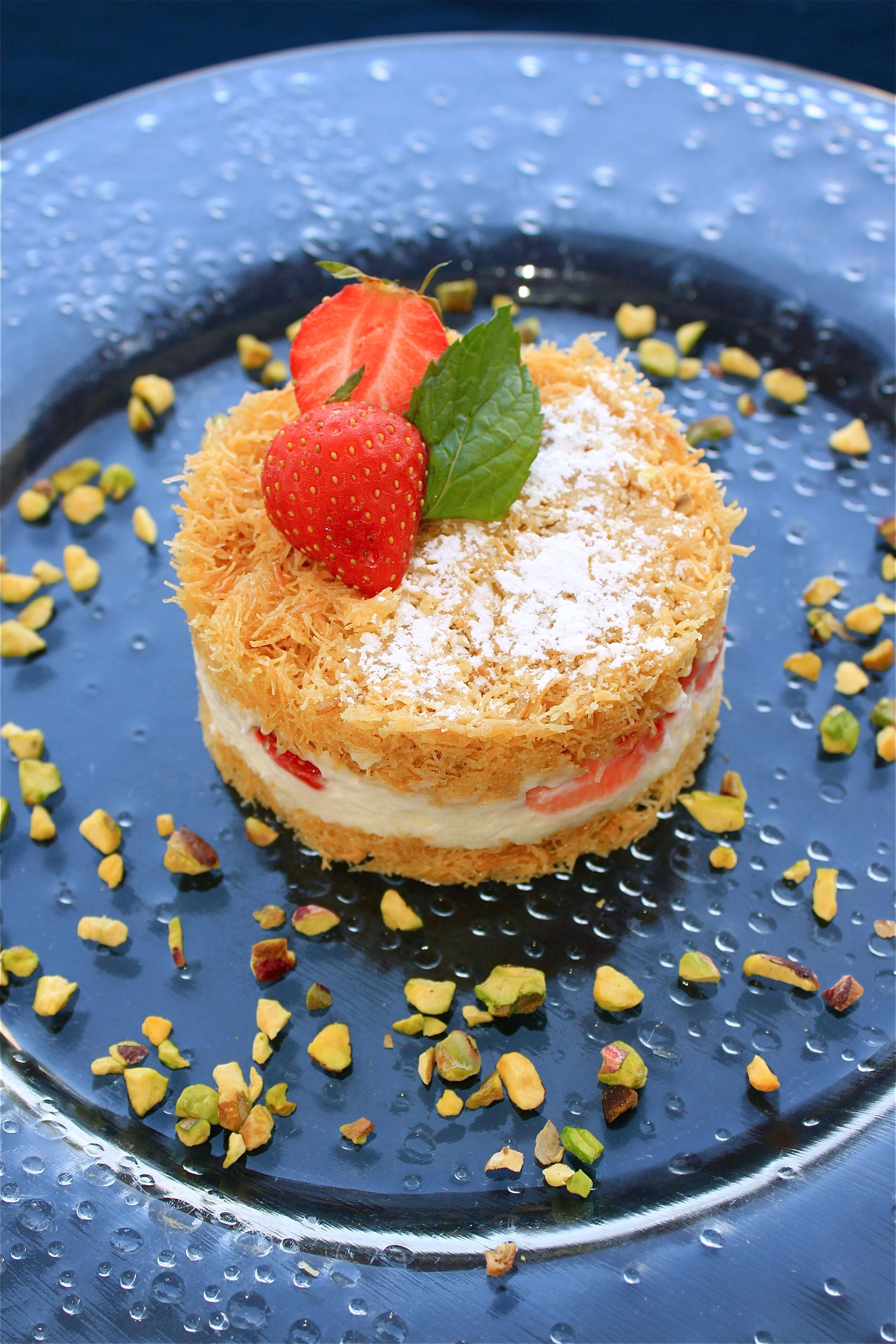 Kunafa is one of the most popular lovely desserts traditionally desserts traditionally eaten during ramadan in arab and middle eastern countries there are many types of fillings in the basic recipe like cream forumfinder Image collections