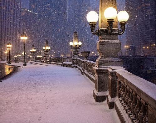 Chicago winter can be beautiful when not ferocious.