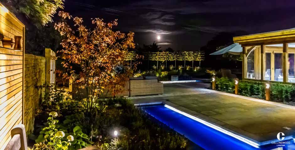 Collingwood Lighting - Private Residence - Sheffield & Collingwood Lighting - Private Residence - Sheffield | LED garden ...