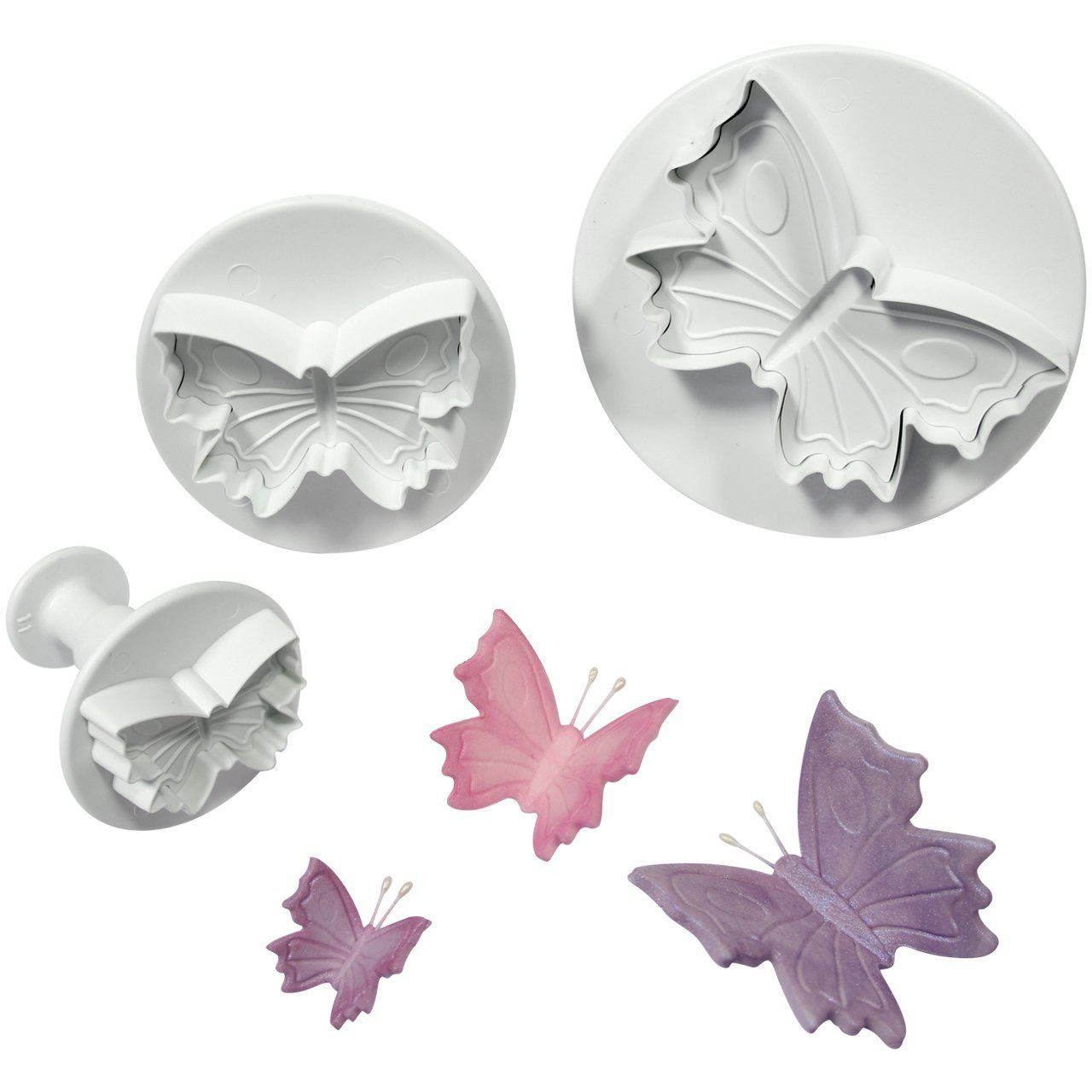 PME Plunger Cutters, Butterfly, 3-Pack ** Amazing product just a click away  : Baking Tools and Accessories