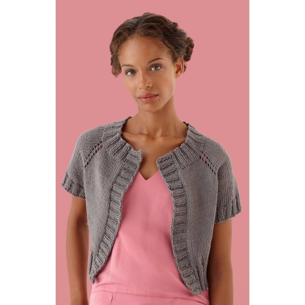Simple Raglan Cardi (Knit) | Knitting patterns free ...
