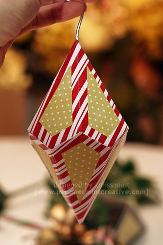 Cool Paper Ornament Templates Could Be Used For Any Occasion With
