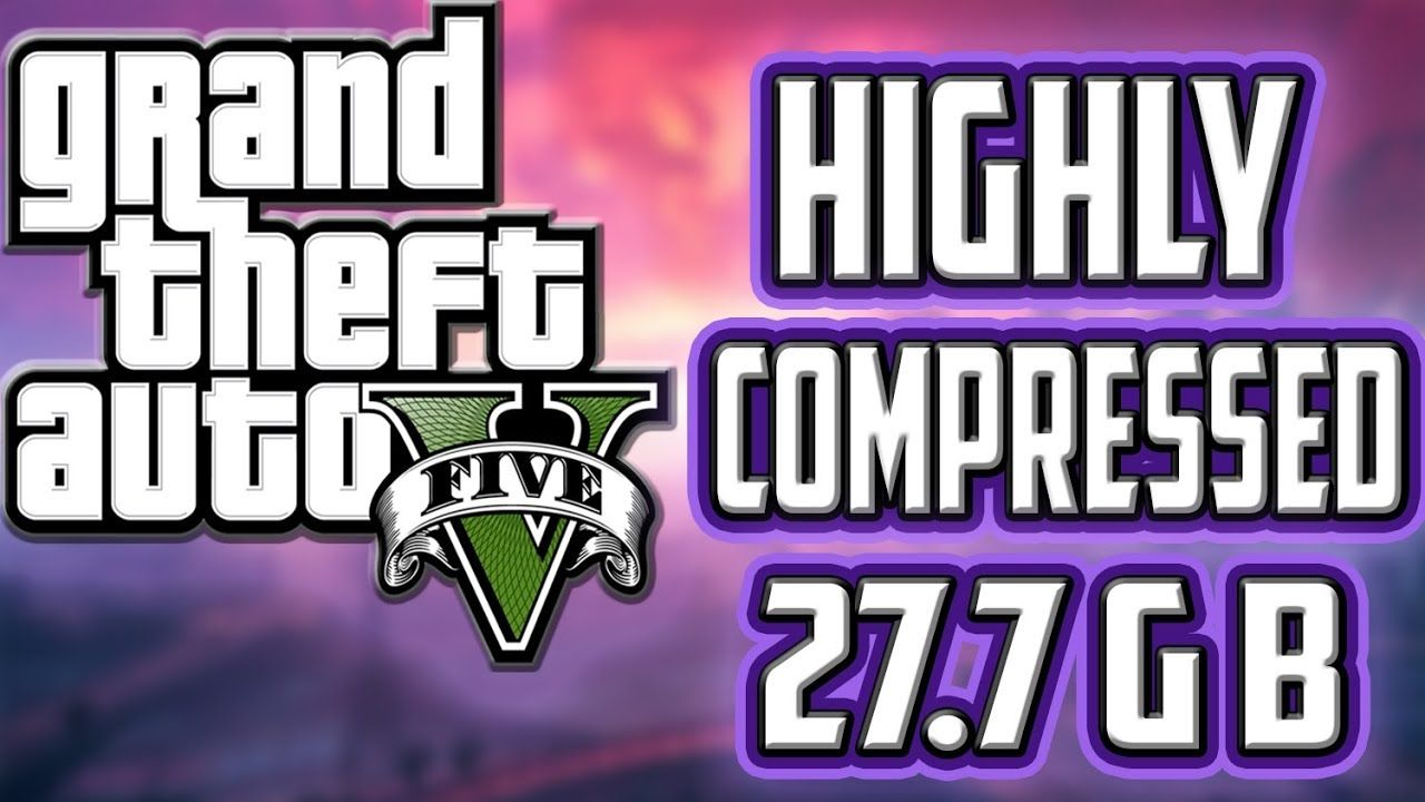 How to Download And Install GTA V HIGHLY COMPRESSED | gaming