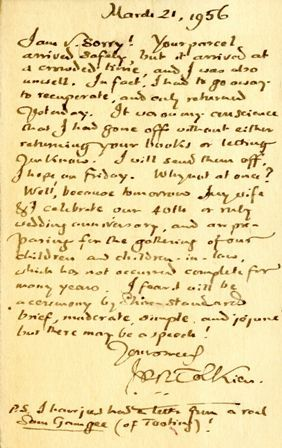 Jrr Tolkien Letter  Books    Jrr Tolkien Tolkien And