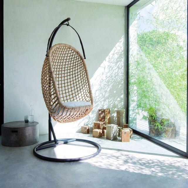 fauteuil suspendu swing en 2019 mobiliers x accessoires. Black Bedroom Furniture Sets. Home Design Ideas