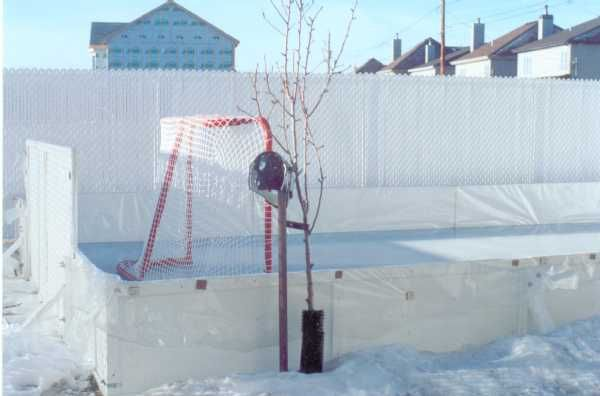 Backyard Ice Rink Liner Method, The Easy Way To Build Your Home Ice Rink.