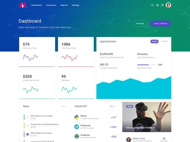 Metronic 5 - Bootstrap Admin Dashboard - Demo 14   UI Design   Ui