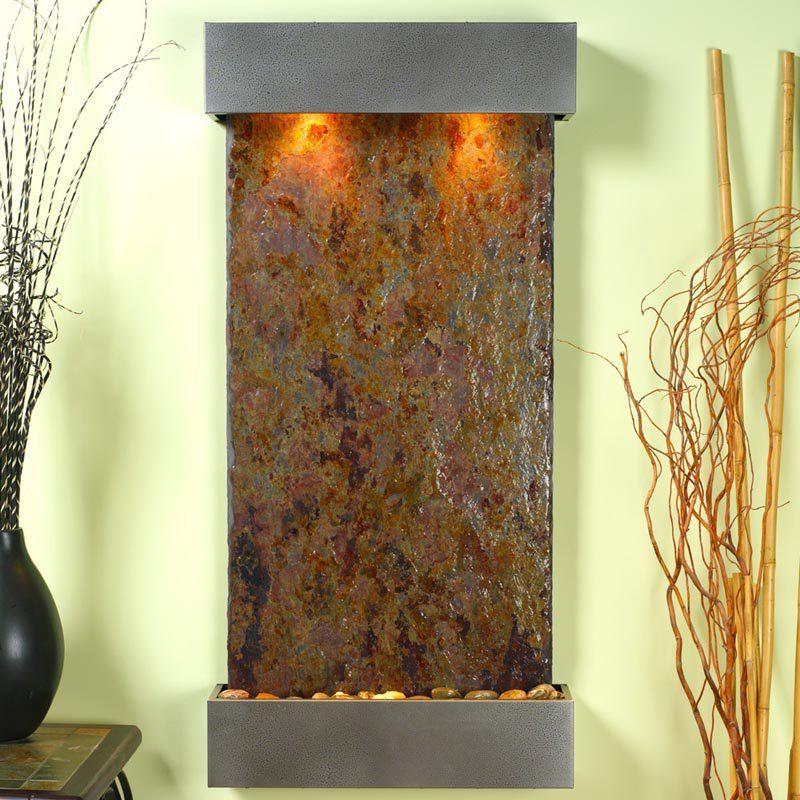 Adagio Whispering Creek Wall Indoor Fountain Www Hayneedle Com Wall Fountain Water Fountains Outdoor Indoor Fountain