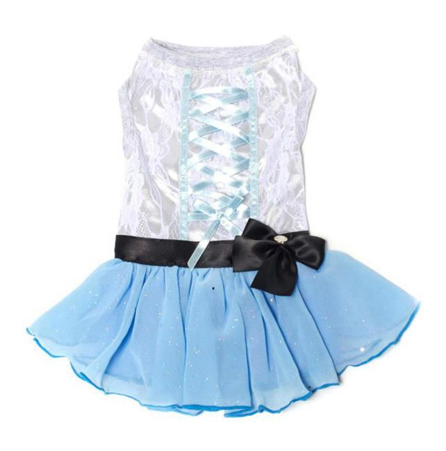 Tutu-riffic Dog Dress - Light Blue