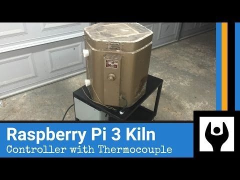 50) DIY Raspberry Pi Temperature Control for Kiln Foundry - YouTube