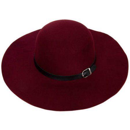 AERUSI Women s Vintage All Season Wool Floppy Sun Hat - Walmart.com 19499d90b34