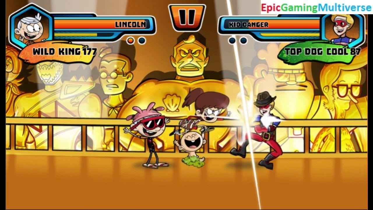 Lincoln Loud VS Kid Danger In A Nickelodeon Super Brawl