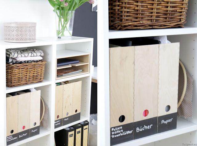 home office: wie du dein büro praktisch und schön einrichten ... - Buro Mobel Praktisch Organisieren Platz Sparen