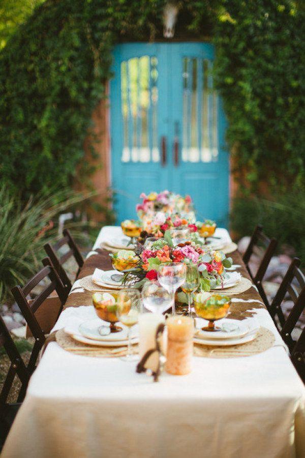 Beautiful outdoor dining