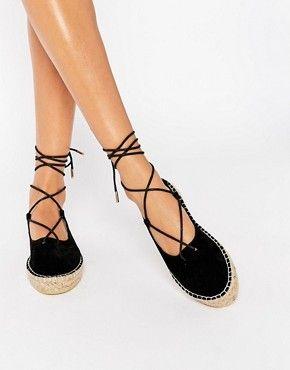 Zapatos negros de verano Boohoo para mujer SEM6AX