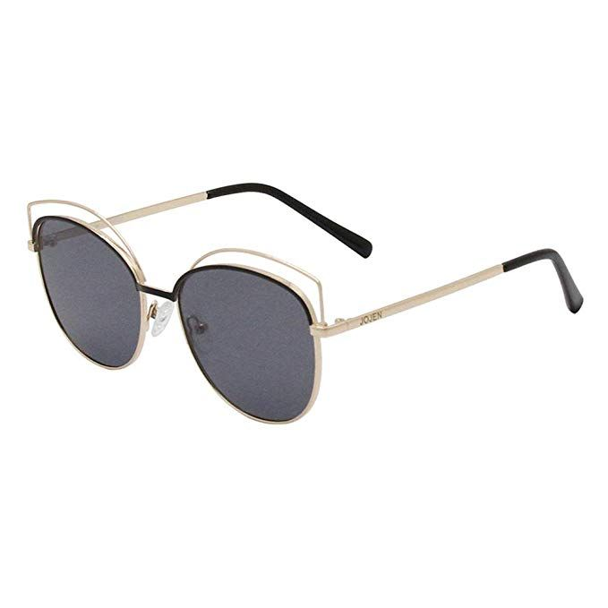 Amazon.com: JOJEN Semi Rimless Cateye Polarized Sunglasses