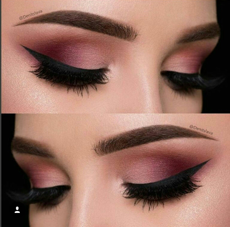 Pin by Maria Triandafilidis on Beautifying, Color  Maroon eye