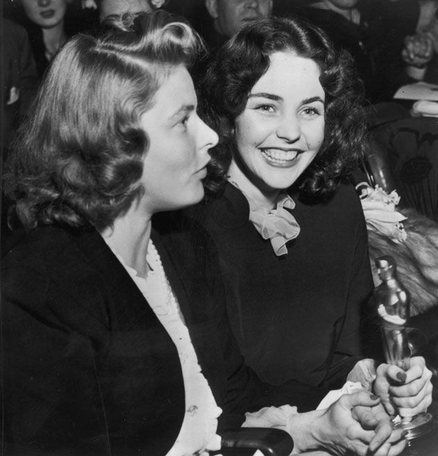 Ingrid Bergman and Jennifer Jones
