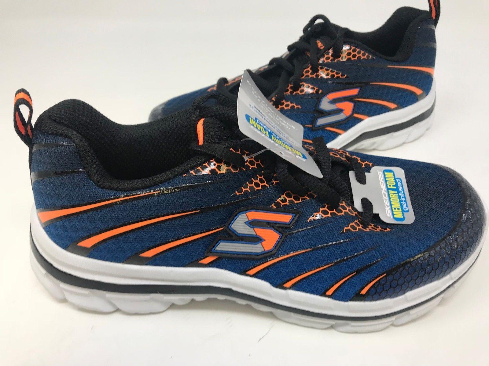 289e70c0a082 Skechers Youth Boy s Nitrat Shoes Blue Orange  95340L 172E lz (eBay Link)