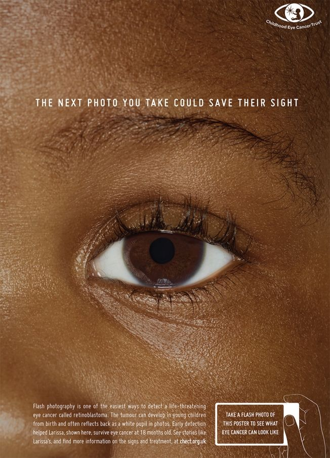 Childhood Eye Cancer Trust | Clube de Criação de São Paulo