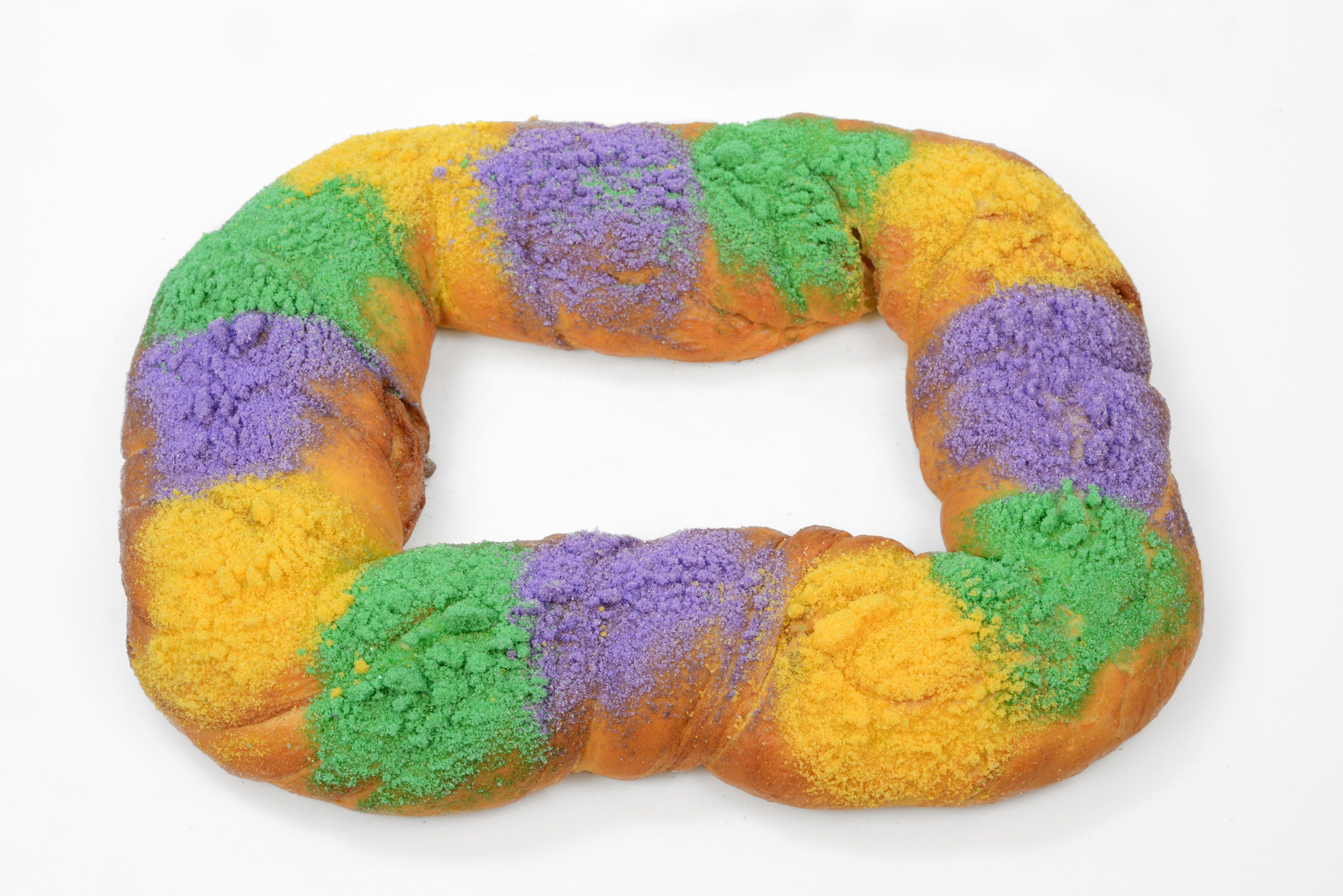Dont like icing try our sugar only king cake king