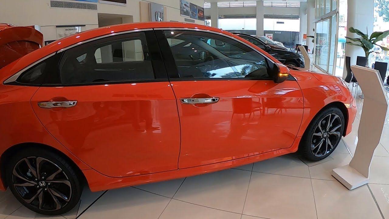Honda Civic RS 2020 Màu Đỏ Nhập Khẩu Nguyên Chiếc Nội