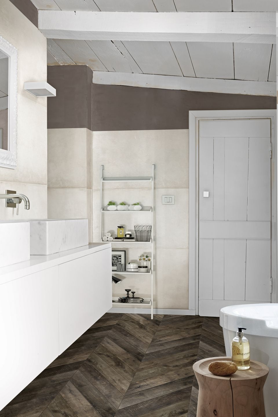 not all woodlook tiles are created equal  wood bathroom
