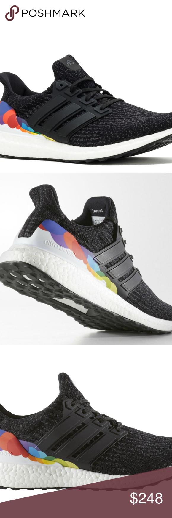 MINT 8 Adidas Ultra Boost Pride Black Rainbow Mens 8 MINT MINT Adidas Ultra 723fd4