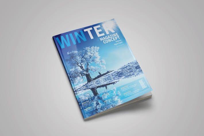 Multipurpose Indesign Magazine Template #editable #indesign