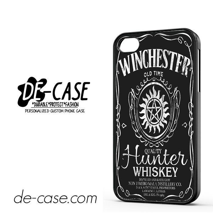 Jack Daniels Supernatural Winchester DEAL-5738 Apple Phonecase Cover For Iphone 4 / Iphone 4S