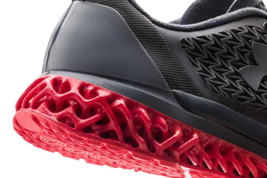 Printed Training Shoes Unveiled by Under Armour