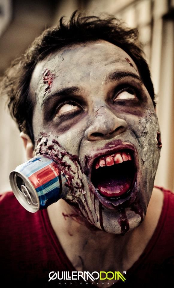 I Chose This Image Because I Love The Can Effect! | Best Halloween Make Up | Pinterest | Makeup ...