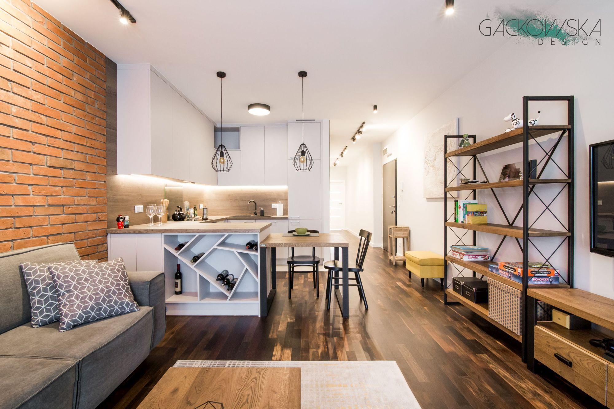 Kuchnia Z Salonem Gackowska Design Home Decor Decor Home
