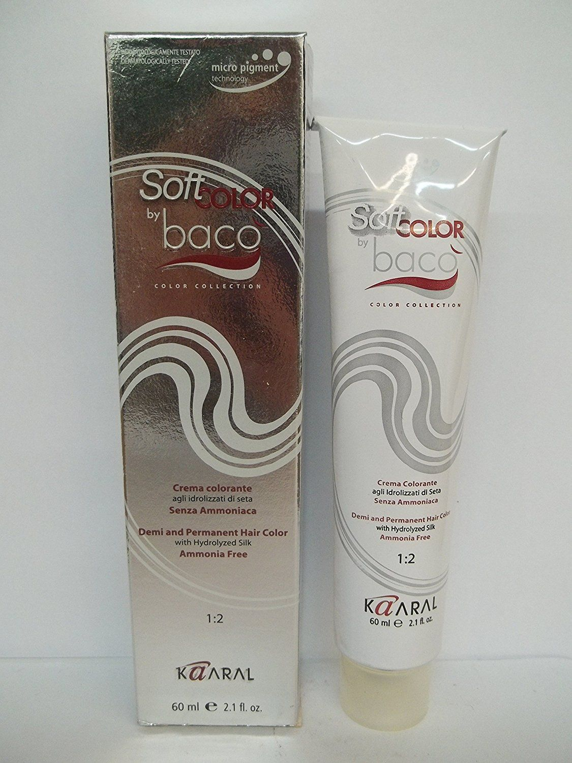 Baco Hair Color Demi And Permanent Ammonia Free By Kaaral Tinta Super Black Pigment 100ml 21 Oz 630 Dark Golden Blonde Click Image For More Details