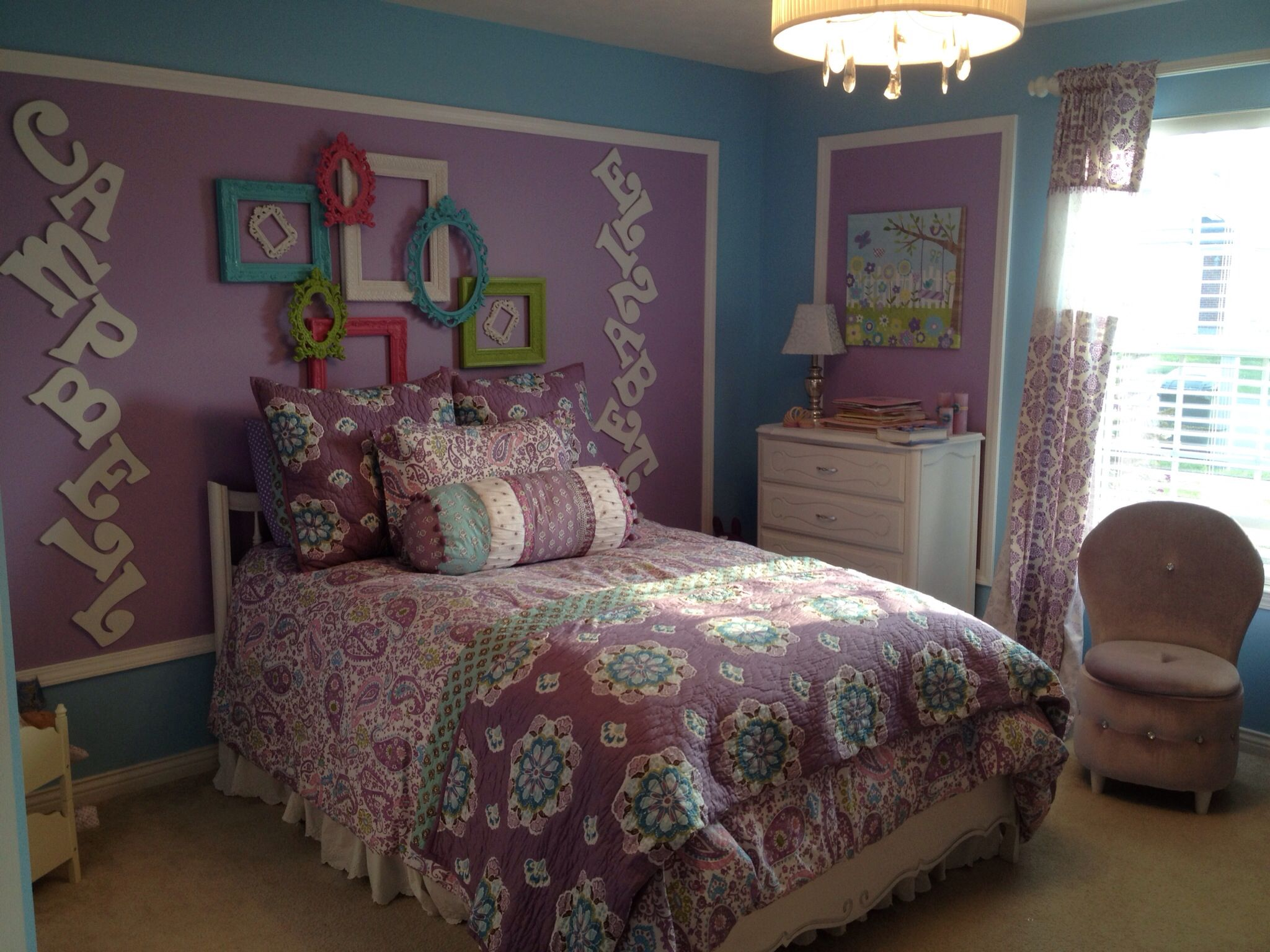 Pottery Barn Kids Bedding In 4 Year Old Girls Room So Fun