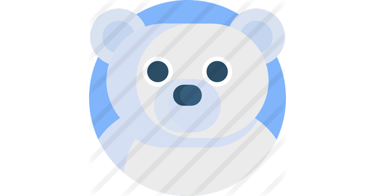 Polar Bear Free Vector Icons Designed By Freepik Vector Free Vector Icon Design Vector Icons