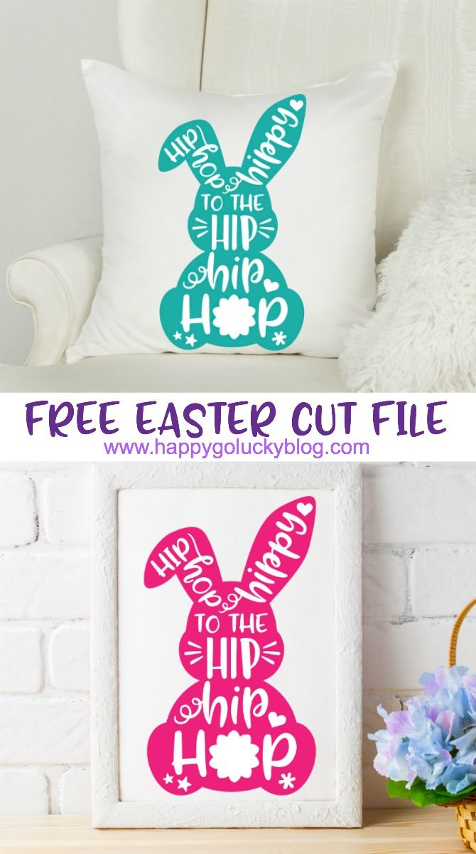 Easter Cut File Collection - Free Downloads #cricutvinylprojects