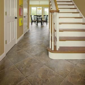 U S Ceramic Tile Stratford 12 In X 12 In Bamboo Porcelain Floor And Wall Tile Discontinued U1701 12 The Home Depot Porcelain Flooring Tile Floor Outdoor Flooring