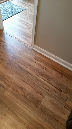 Trafficmaster Lakeshore Pecan 7 Mm Thick X 7 2 3 In Wide X 50 5 8 In Length Laminate Flooring 24 17 Sq Ft Wood Floors Wide Plank Flooring Laminate Flooring