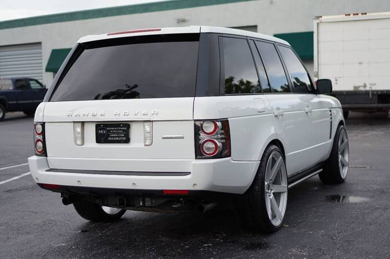 Custom Wheels 2012 Range Rover Supercharged 4 4 Offroad For Sale In 2020 Range Rover Supercharged Range Rover Range Rover Hse