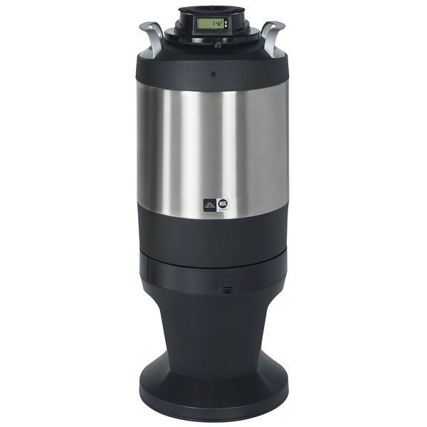 Photo of Curtis TFTR15G Freshtrac 1.5 Gallon Coffee Dispenser with Rear-Facing Lid and Lockable Base