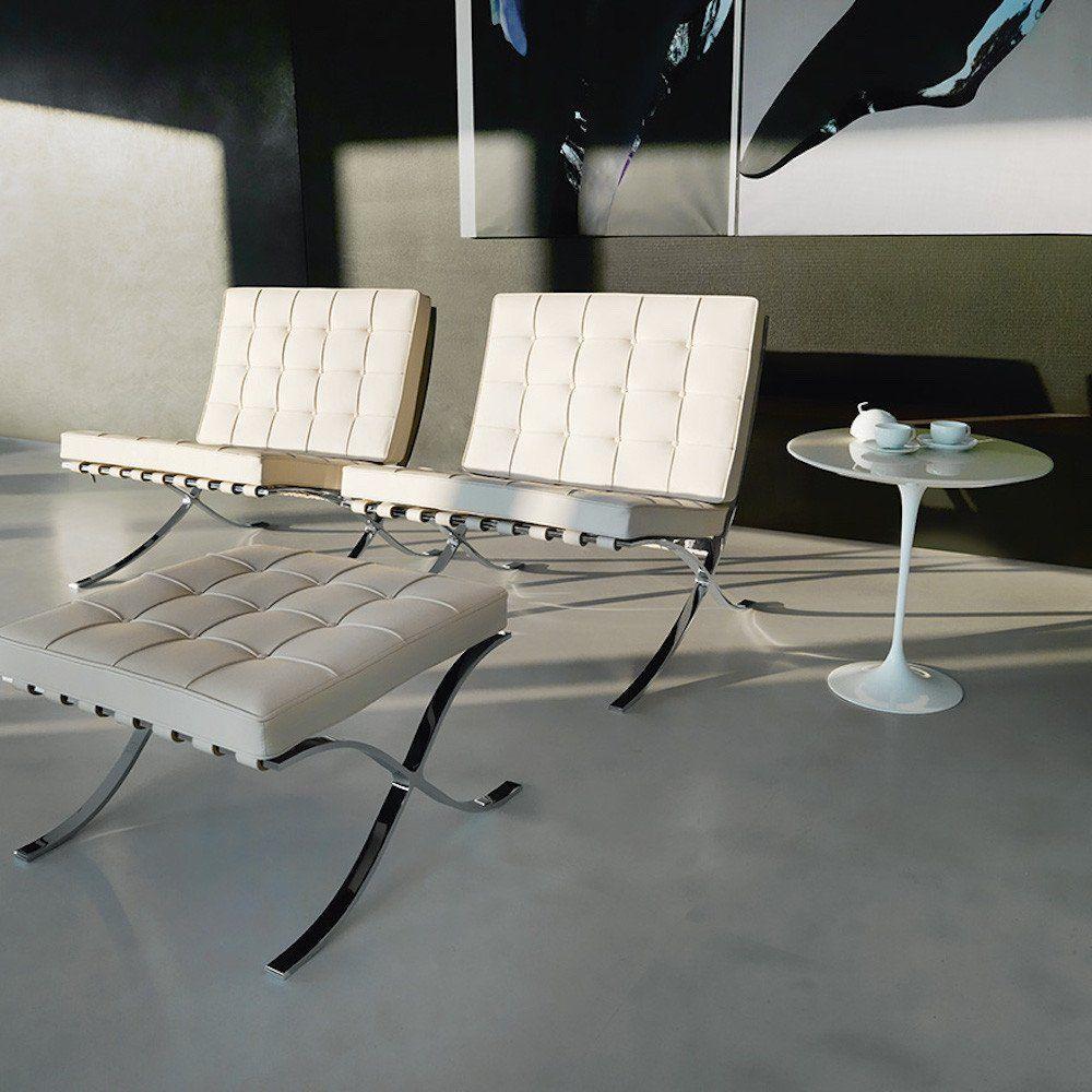 Barcelona ottoman barcelona chair sofa home knoll