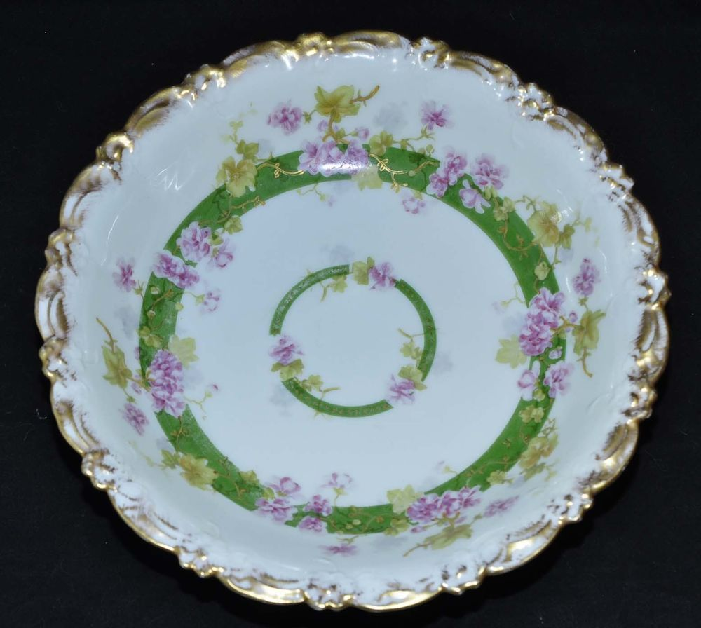 Christmas Tables Limoges Bowls Forward Vintage Antique Bowl B