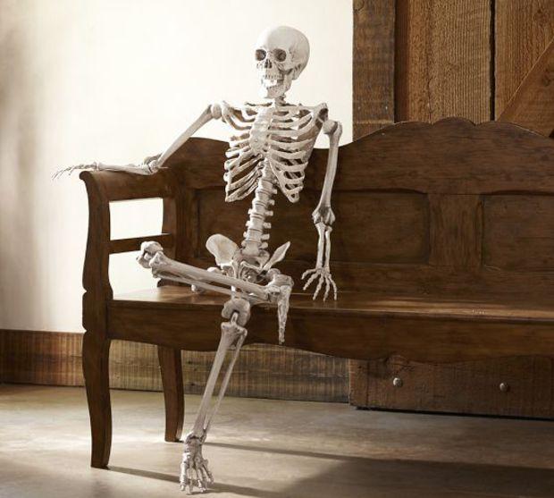 Mr Bones From Pottery Barn Halloween Home Decor
