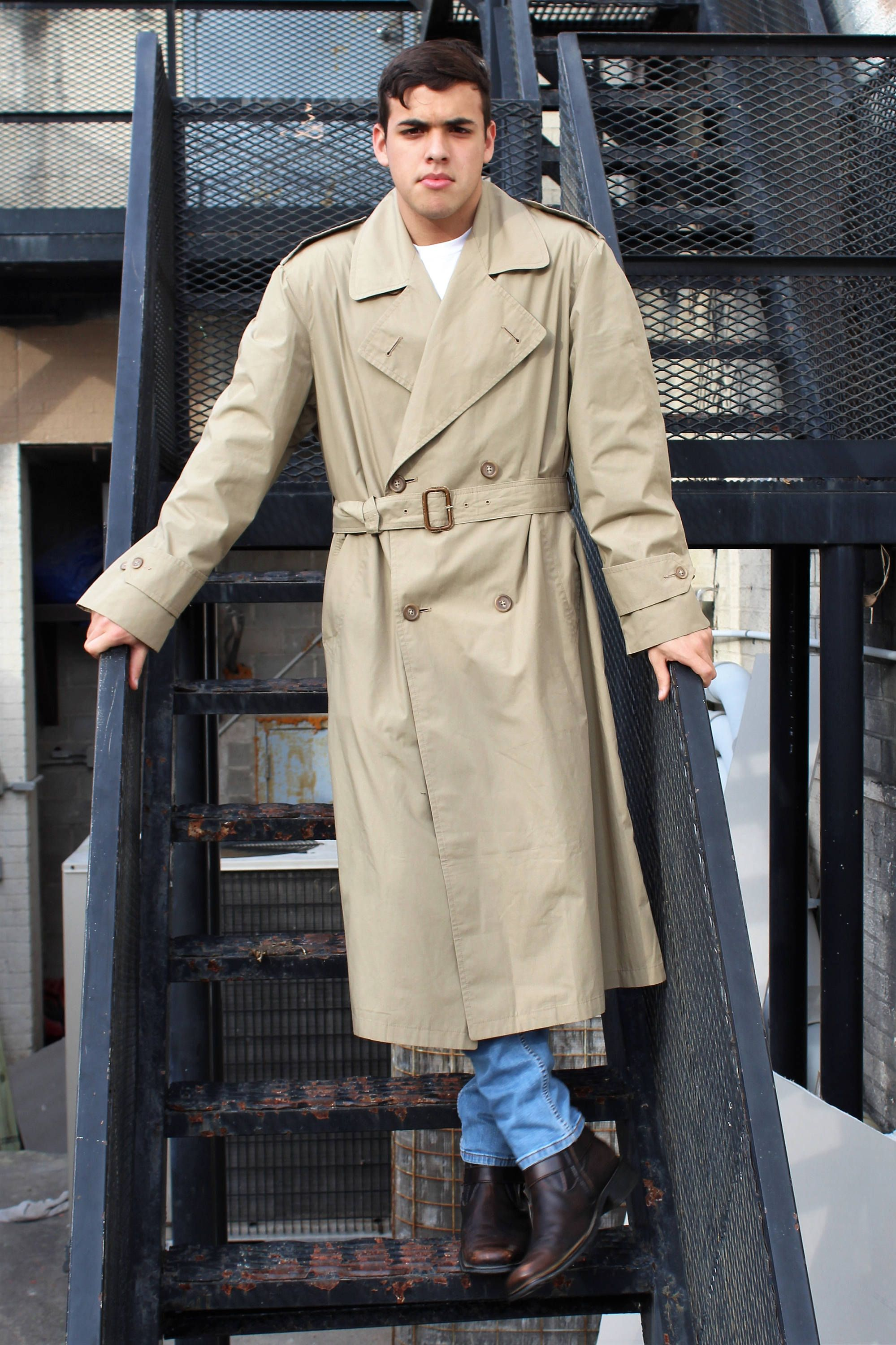 1de88a7967dc Vintage mens trench coat from Christian Dior: Trench Coat Men | Christian  Dior, 40R