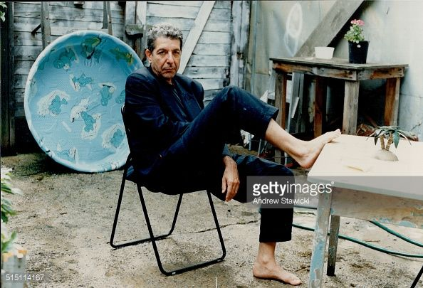 Photo d'actualité : Leonard Cohen