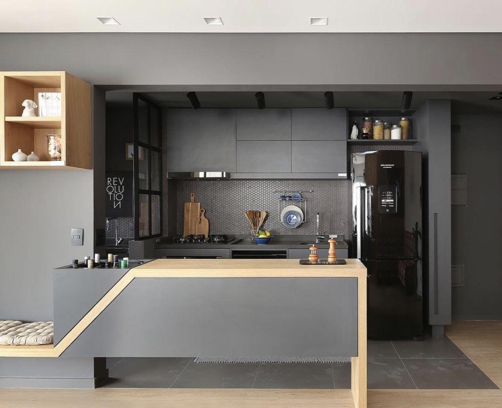 Cozinha Americana Pequena 60 Projetos Para Se Inspirar Kuchnia